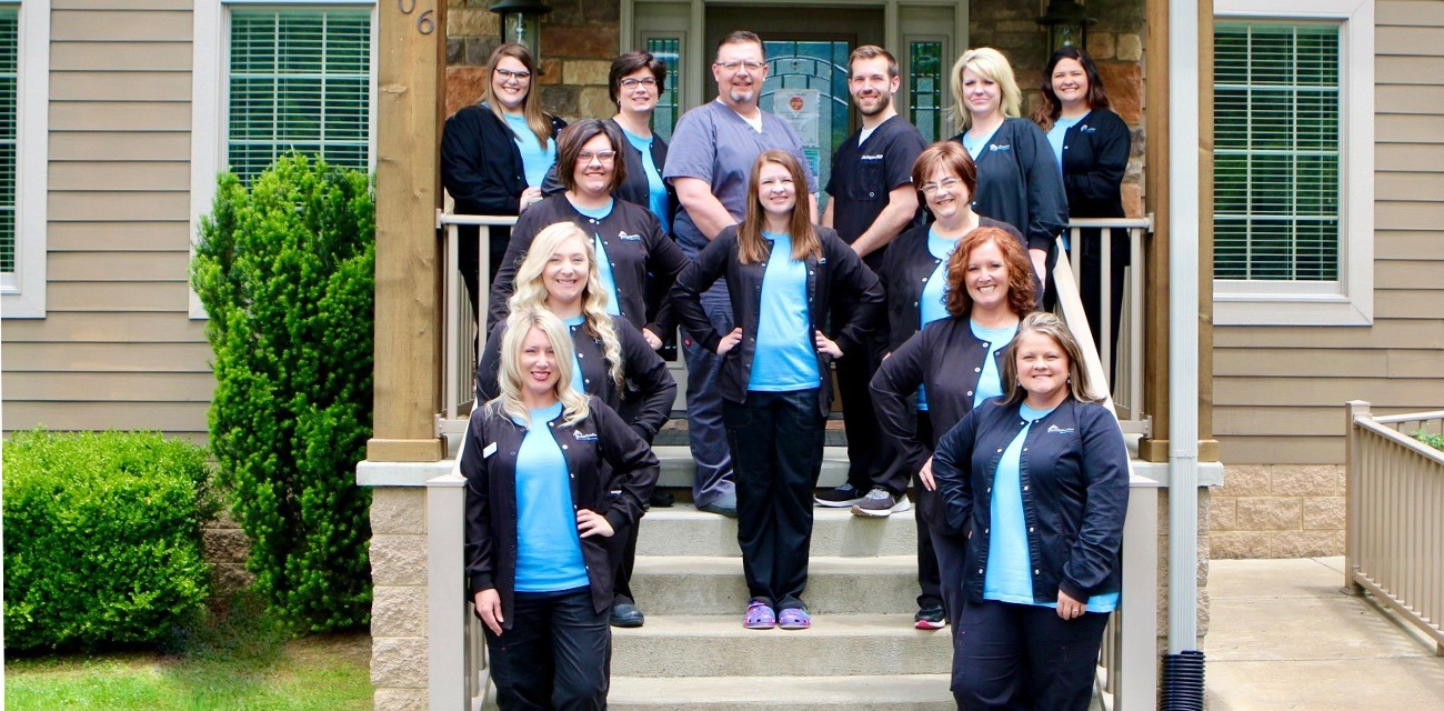The Brookside Dental Care team