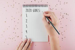 2020 goal notebook